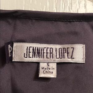 Jennifer Lopez Dresses - Jennifer Lopez Silky Purple Gray Dress Size S